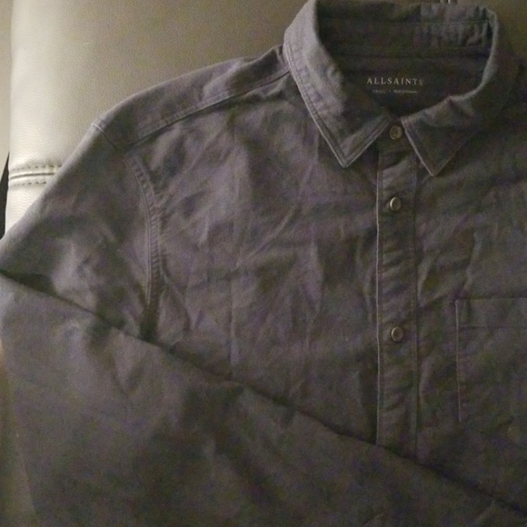 All Saints Other - NWOT ALL SAINTS Washed Out Casual Button Down